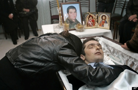 NODAR KUMARITASHVILI atleta georgiano morto