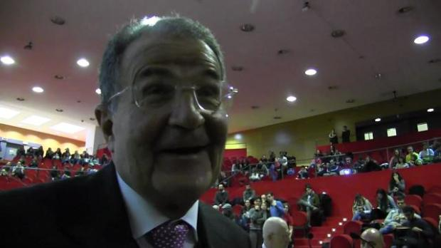 Romano Prodi alla Bicocca
