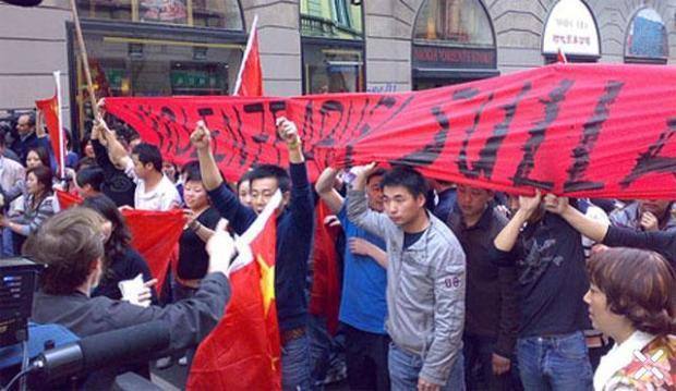 La rivolta di China Town di Milano
