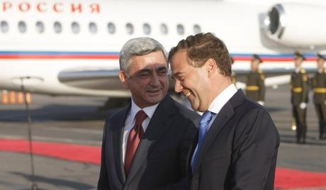 Visita Medvedev a Erevan