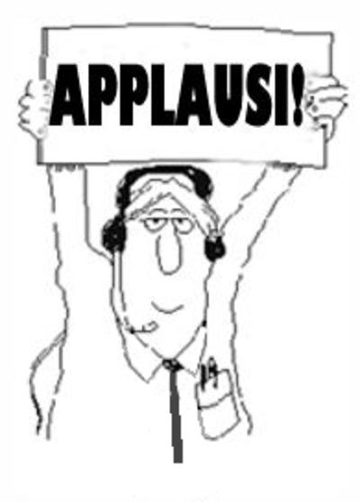 applausi, ovunque