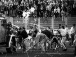 scontri tra ultrà croati e serbi