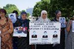 Donne cecene chiedono dove siano finiti i loro parenti