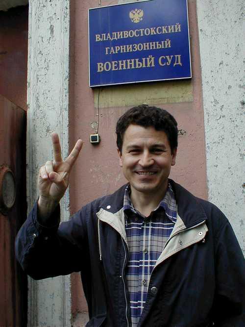 Grigory Pasko, libero