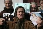 Una donna cecena chiede giustizia