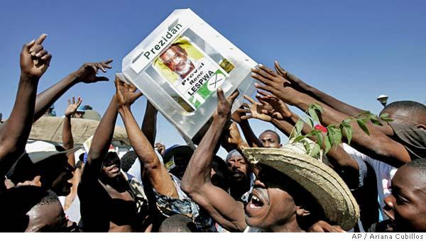 Haiti, voto e proteste