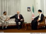 Khamenei, Lukashenko e Ahmadinejad