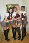 Nicole è la prima, a sinistra