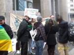 La manifestazione pro berberi a Milano