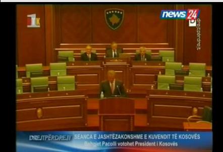 Pacolli Presidente kosovaro