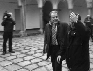 Romano Prodi, oggi a Milano