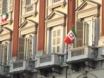 Bandiere nostalgiche a Torino