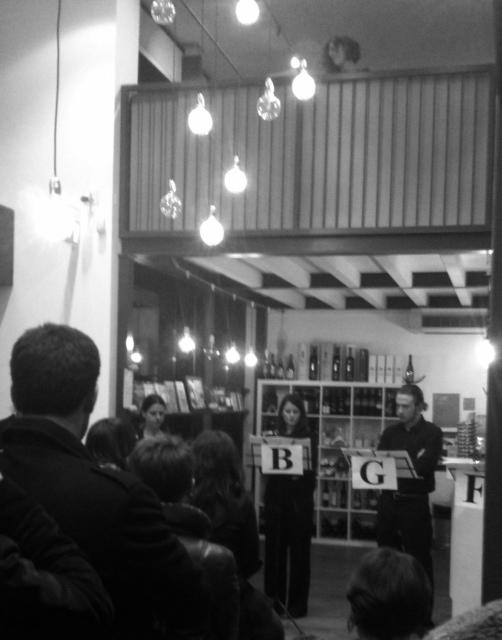 Il Cardo rosso alla Liberia Gogol&Company di Milano