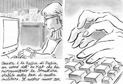 Il fumetto su Anna Politkovskaja