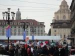 La protesta tricolore del Regio di Torino