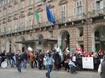 Protesta dei lavoratori del Regio di Torino