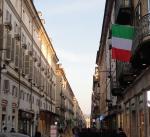 Tricolori per le vie di Torino