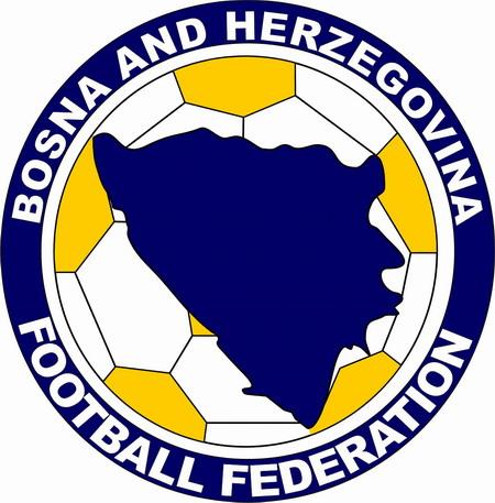 Il logo della federazione calcistica bosniaca