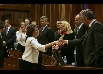 Atifete Jahjaga, la nuova presidente del Kosovo