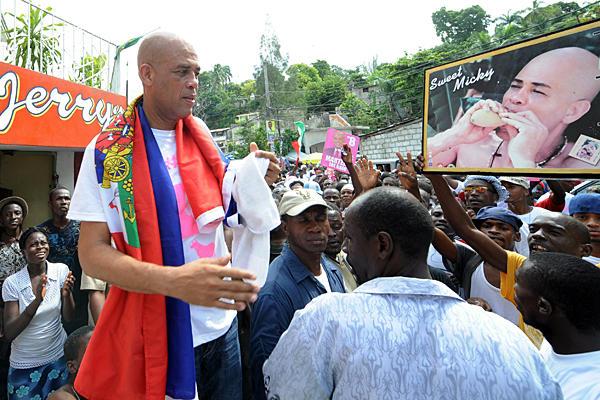 Michel Martelly, nuovo presidente haitiano