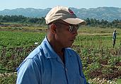 Brice Gaspard agronomo ad haiti
