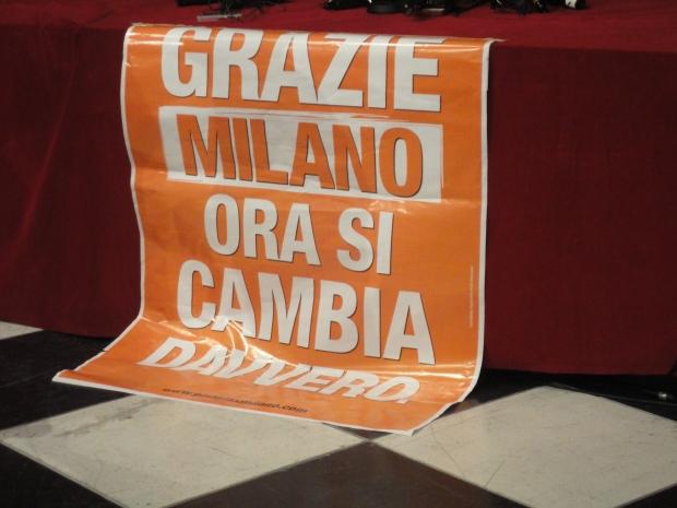 Grazie Milano Pisapia