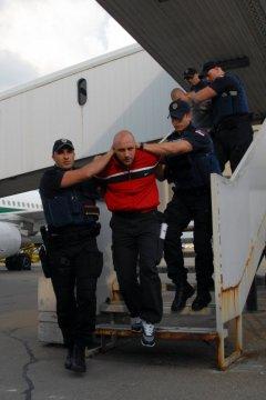 L'arrivo a Belgrado di Ivan Bogdanov e Klickovic