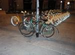 Parcheggio solo per bici comunali