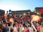 Piazza Duomo arancione
