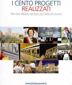 il libro fotografico elettorale di Letizia Moratti