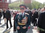 Generale con molte medaglie