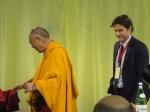 Dalai Lama e Matteo Mecacci