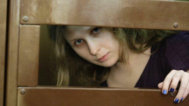 Maria Alekhina in prigione