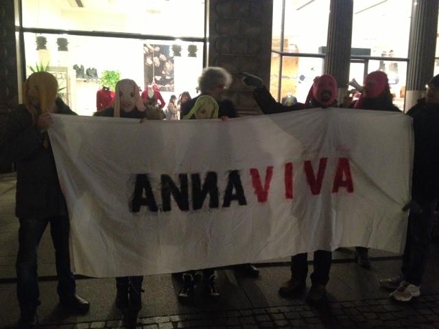 Annaviva pro Pussy Riot