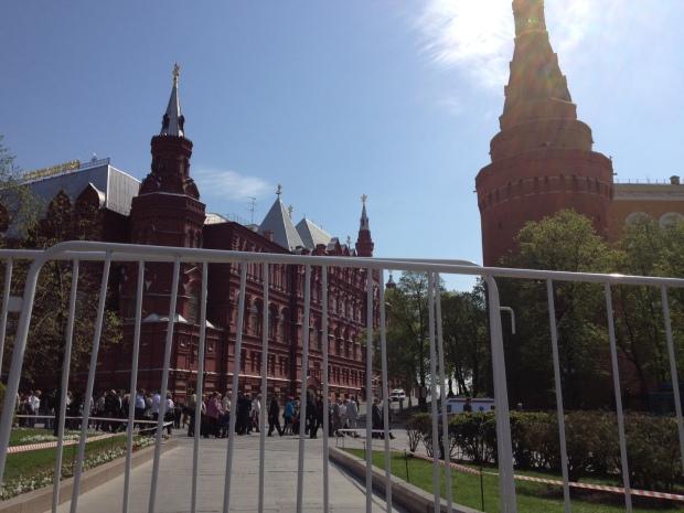 Cremlino sbarrato (foto Andrea Riscasi)