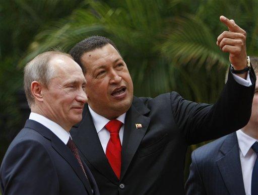 Hugo Chavez, Vladimir Putin