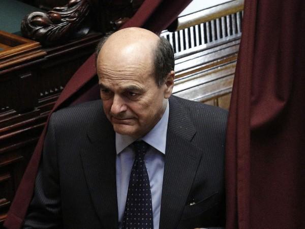 Come è triste Bersani