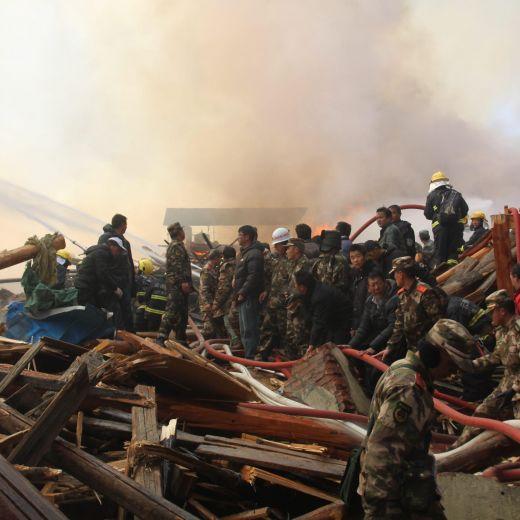 Dopo l'incendio