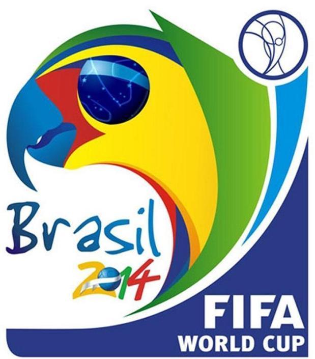Il logo del Mondiale in Brasile