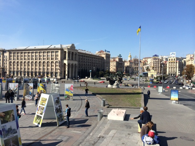 Maidan a Kiev