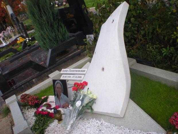 La tomba di Anna Politkovskaja
