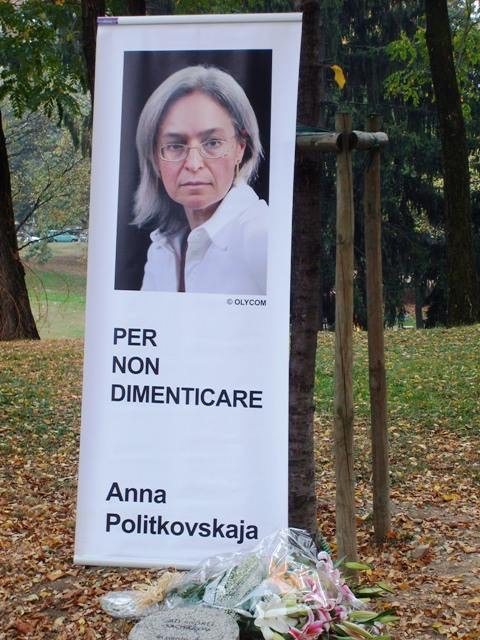L'albero per Anna Politkovskaja