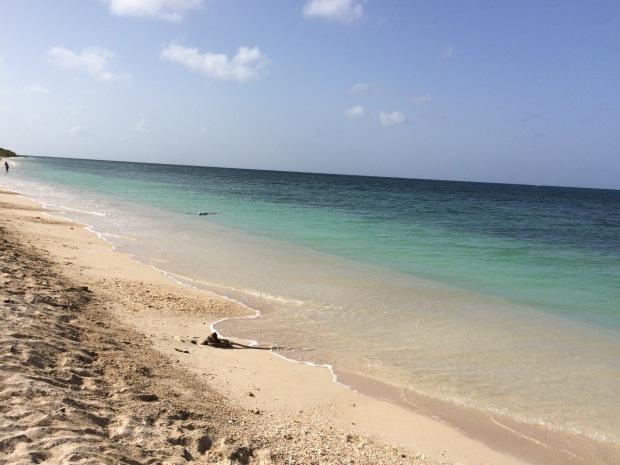 La spiaggia di Playa Ancon