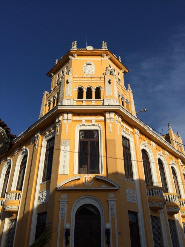 Uno degli edifici di Sancti Spiritus