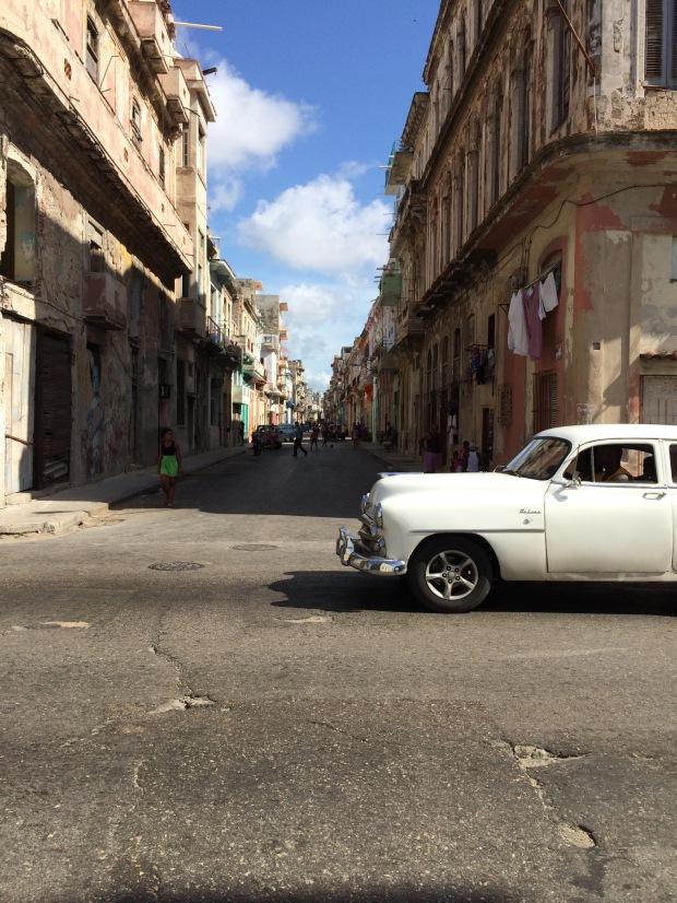 Una delle storiche macchine de L'Avana