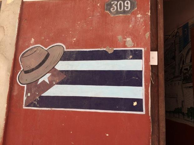 Uno dei tanti murales cubani a L'Avana
