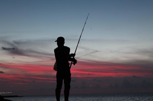 Il tramonto sul Malecon de L'Avana